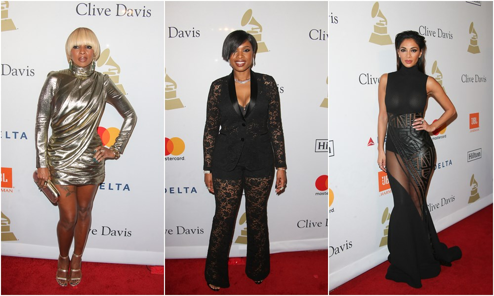 #GrammyWeekend: Clive Davis' Pre-Grammy Gala Photos; Plus Performances From Jennifer Hudson & Maxwell