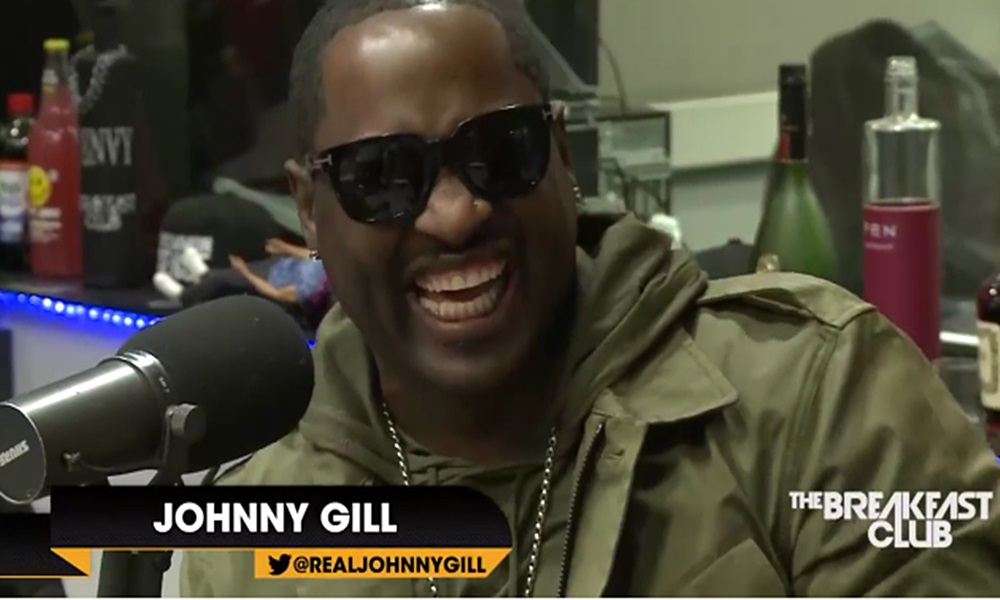Johnny Gill Talks 'The New Edition Story,' Stacy Lattisaw, Group Drama & More On 'The Breakfast Club'