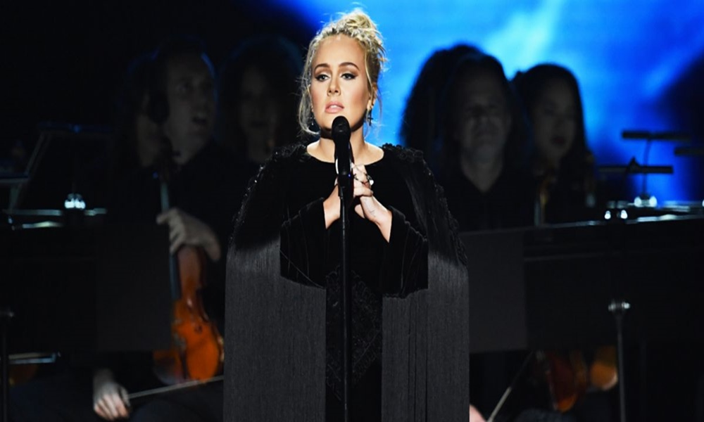 Adele Opens Grammys with 'Hello', Restarts George Michael Tribute After Flub, Makes Beyoncé Cry With Speech