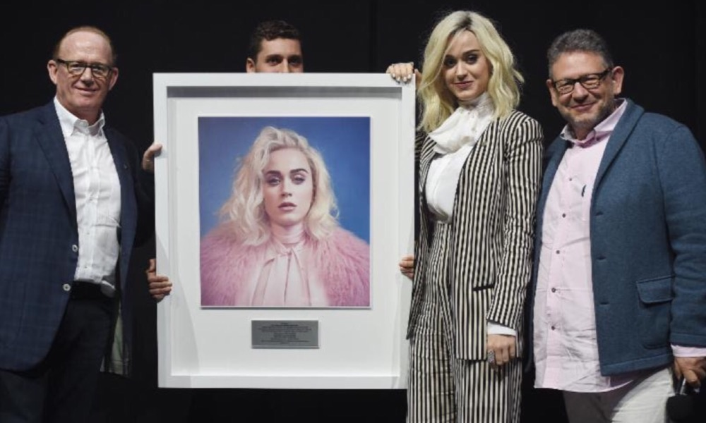 Superstar Katy Perry Honored For Illustrious 10-Year Career
