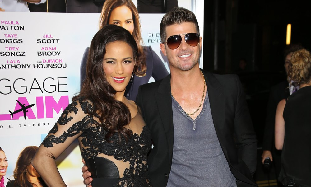 Robin Thicke and Paula Patton at It Again; Source Claim 6-Year-Old Son Called Cops