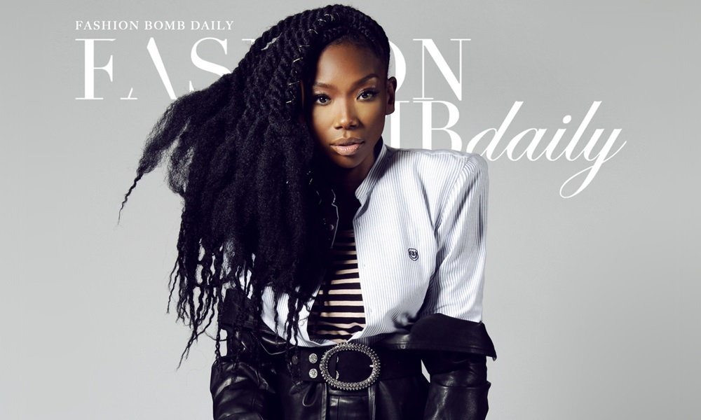 Brandy Covers 'Fashion Bomb Daily' Magazine In Honor of #International Women's Day