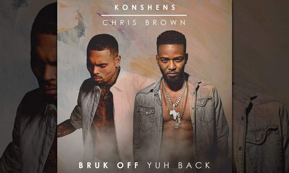"Chris Brown Remixes Reggae Star Konshen's Hit ""Bruk Off Yuh Back"""