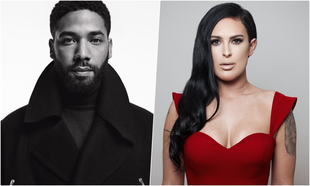 Empire's Jussie Smollett Duets With Bruce Willis' Daughter Rumor Willis on 'Simple Song'