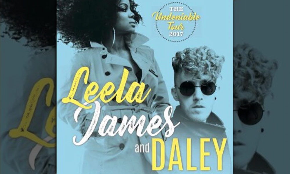 WIN Tickets to See Leela James and Daley at The Apollo Theater on April 15th