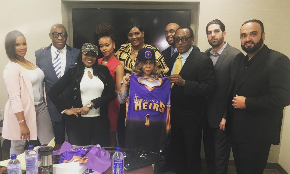"Tameka ""Tiny"" Harris Enters The Sports World; Announces Basketball Team Ownership"