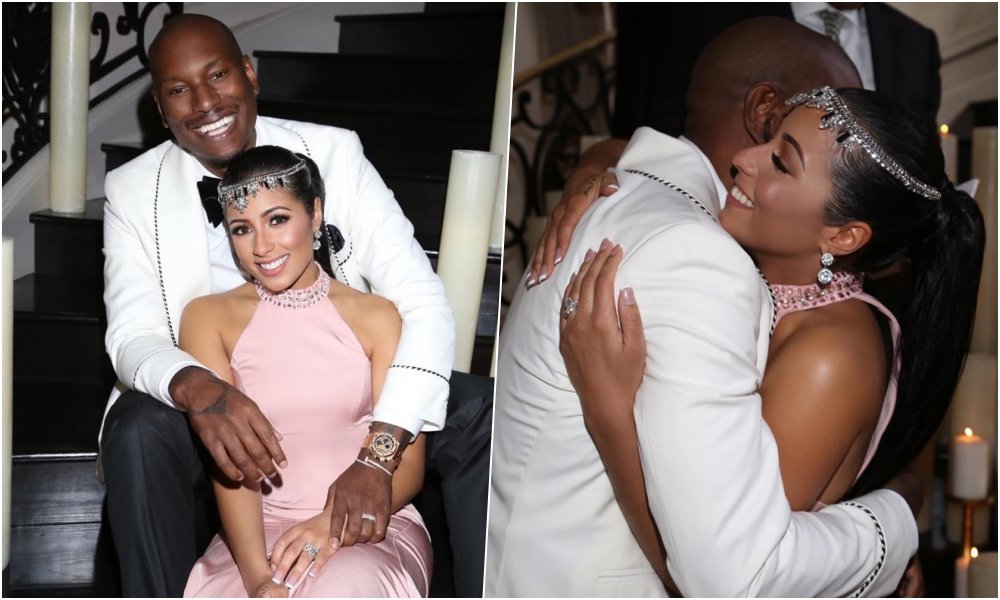 Details Revealed About Tyrese's New 'God Sent' Wife