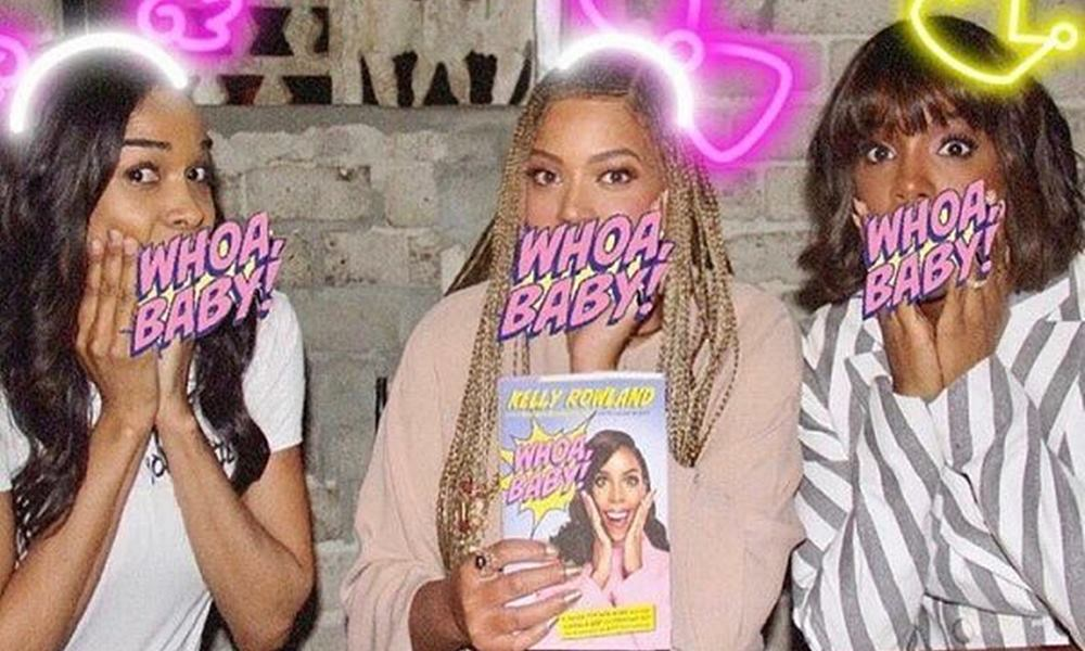 Destiny's Child Reunites In Support Of Kelly Rowland's Book Release