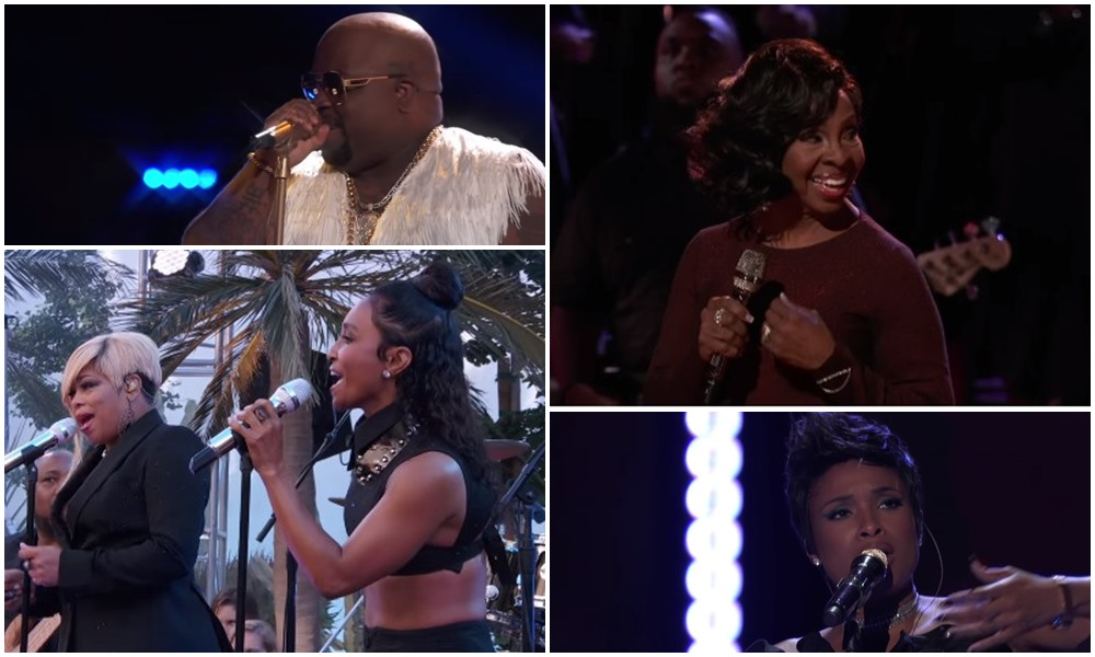 TLC, CeeLo Green, Usher, Jennifer Hudson and More Perform For 'The Voice' & 'DWTS' Finales