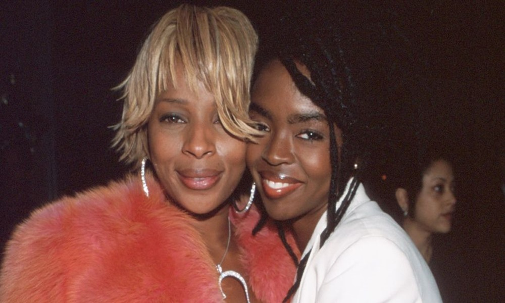 Mary J. Blige and Lauryn Hill Reunite At Cannes Film Festival