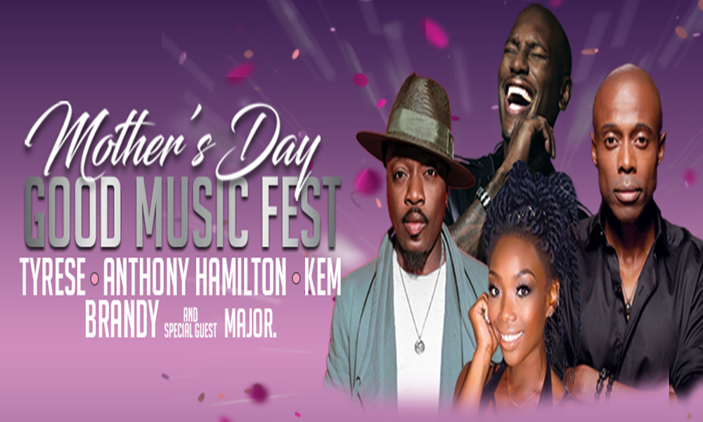 [Concert Review] Mother's Day is Celebrated at the Barclays Center w/ A-List R&B Singers