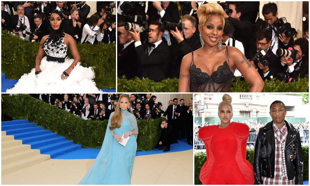 Photos: R&B At The Met Gala 2017