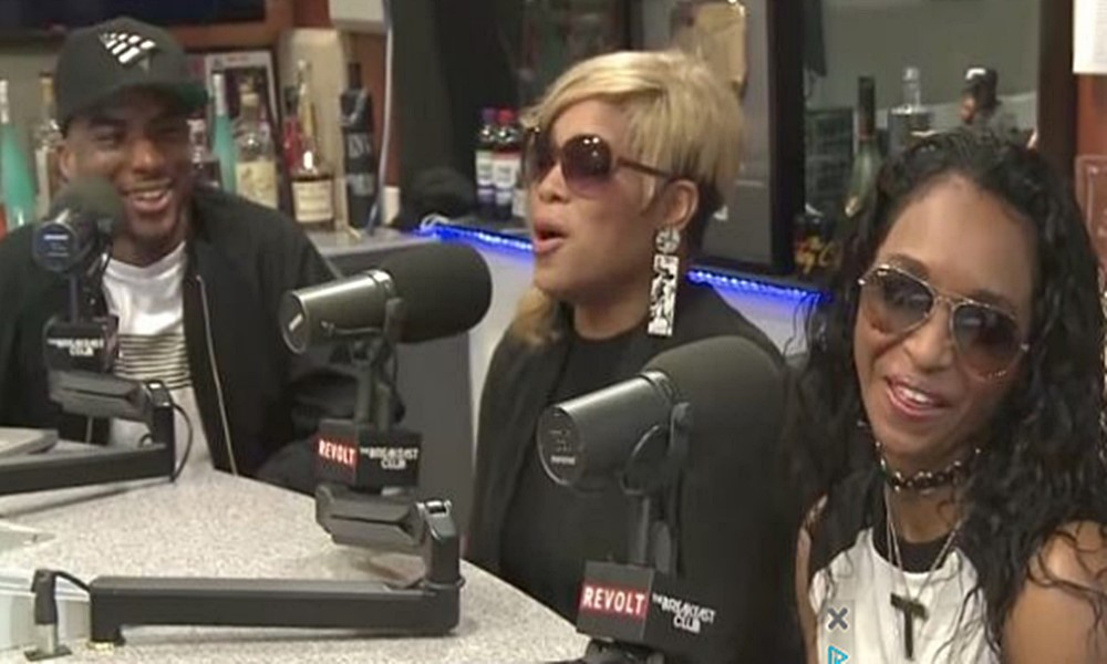 TLC Visits 'Breakfast Club,' Talks New Album and Gets Into It With Charlamagne
