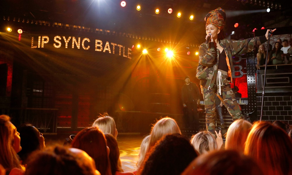 'Lip Sync Battle' Sneak Peek: Zendaya Performs Erykah Badu's 'Tyrone'