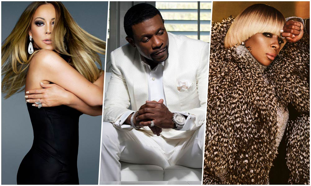 R&B Artists Like Mariah Carey, Keith Sweat, and Mary J. Blige Win in Las Vegas