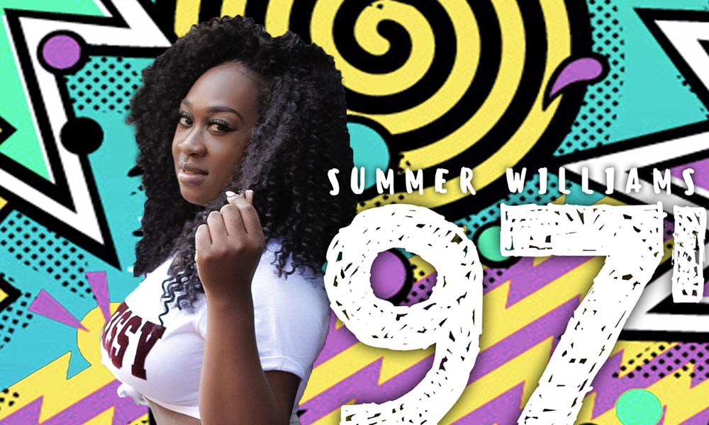 """Premiere: Summer Williams Takes Us Back to """"97"""""""