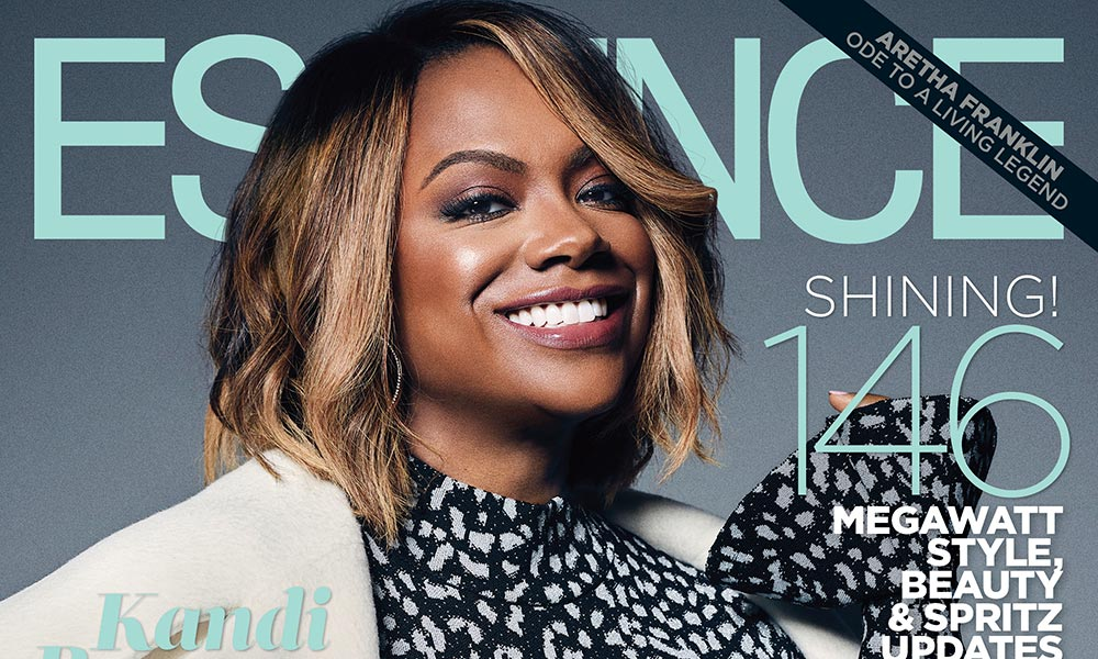 Kandi Burruss Gets Her Dream; Cover Essence's October 2017 Issue