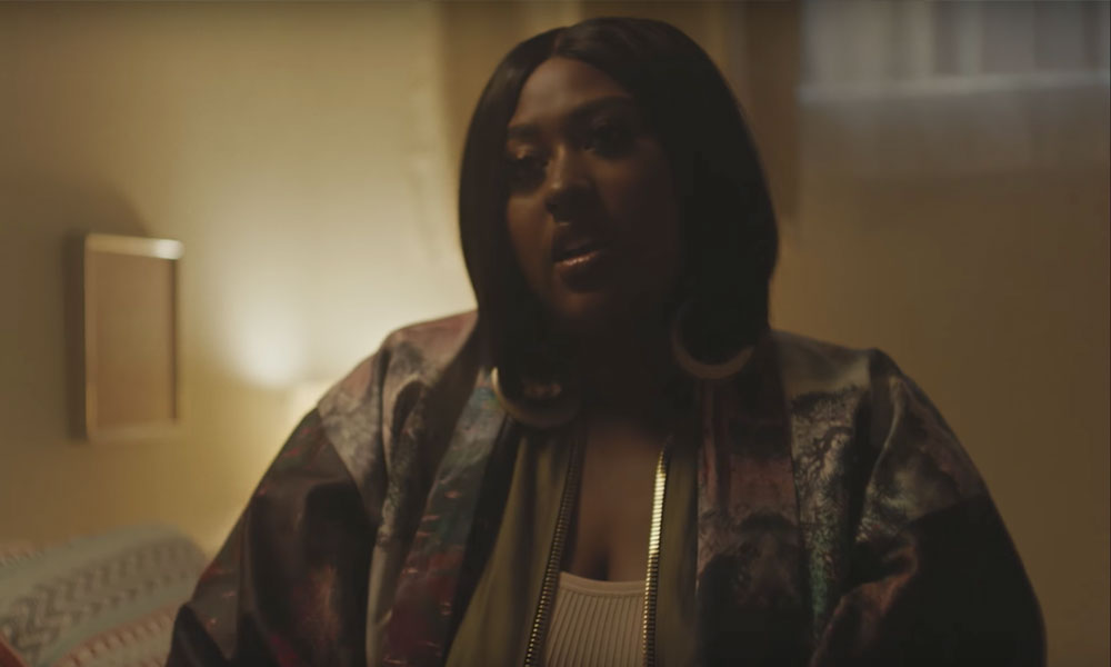 "Jazmine Sullivan and Bryson Tiller Re-enact ""Insecure"" Scene In New Video"