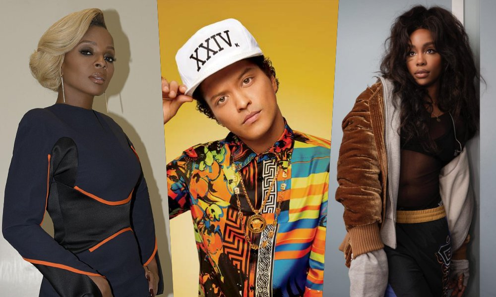 Mary J. Blige, Bruno Mars, SZA, More Lead 49th NAACP Image Awards Nominations