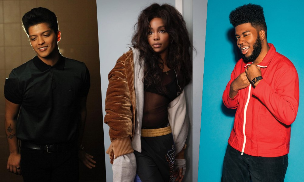 Bruno Mars, SZA, Khalid, More to Perform During 60th Grammy Awards