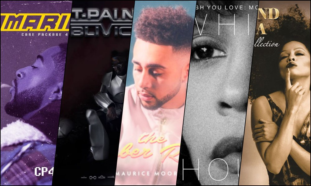 NEW RELEASES: Omarion, T-Pain, Maurice Moore, Whitney Houston, and Diana Ross