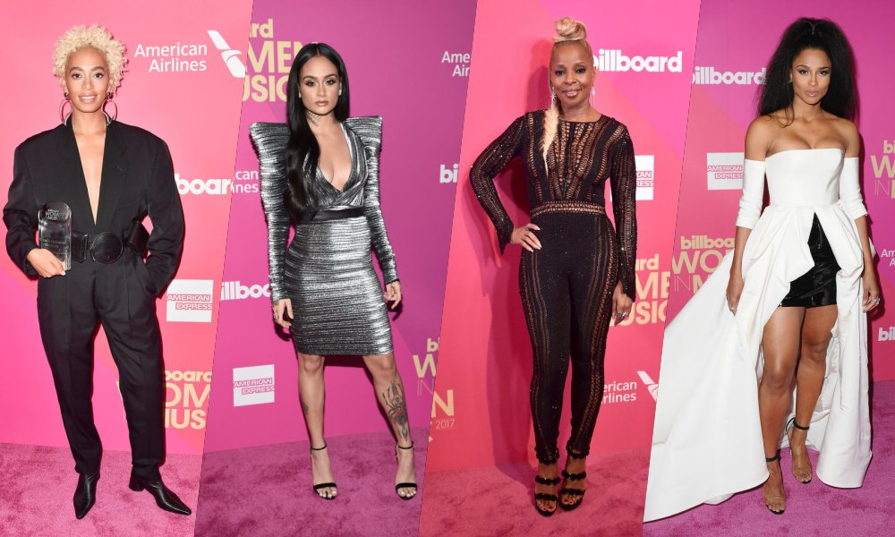 "Billboard ""Women in Music Awards"": Solange Makes an ""Impact,"" Kehlani Performs, Mary J. Blige is Iconic, Ciara, More"