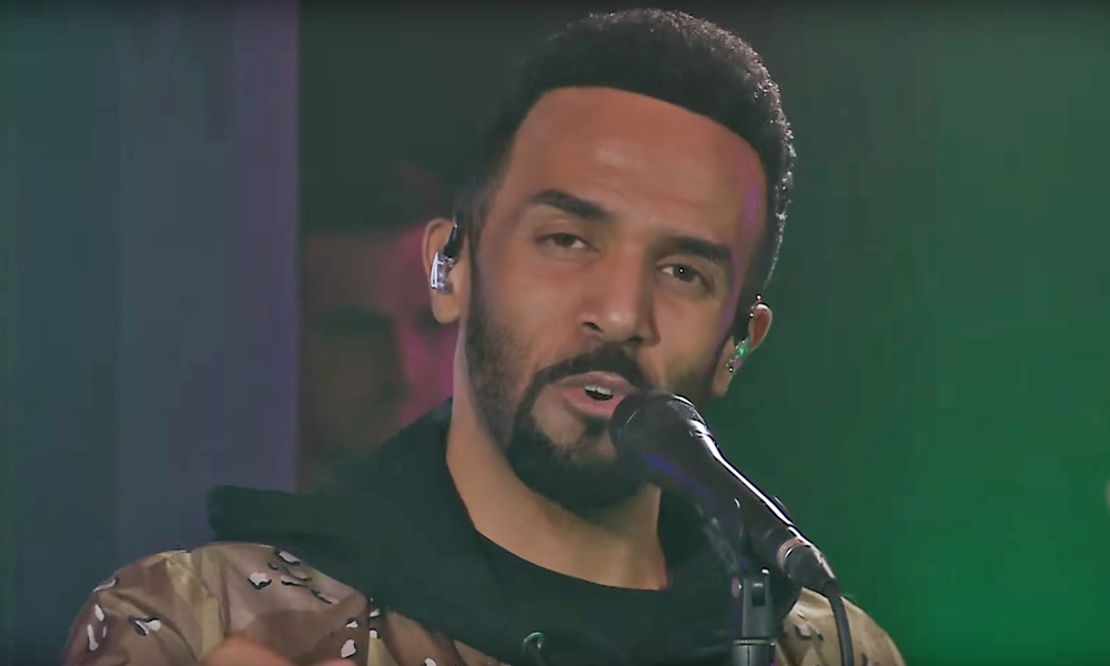 "Craig David Covers Dua Lipa's ""IDGAF"""