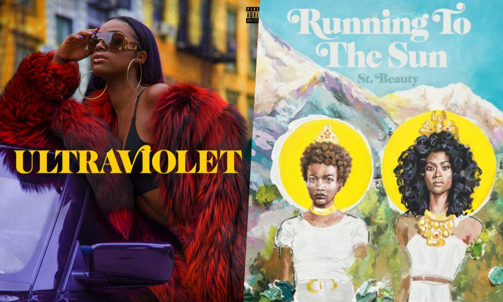 NEW RELEASES: Justine Skye's 'Ultraviolet' & St. Beauty's 'Running To The Sun'