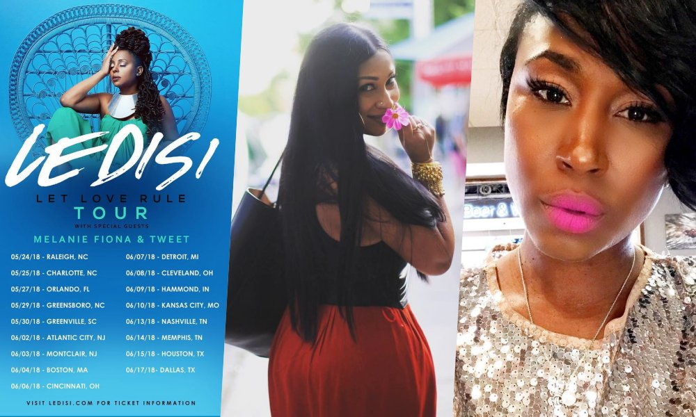 Ledisi Taps Melanie Fiona and Tweet For 'Let Love Rule Tour'