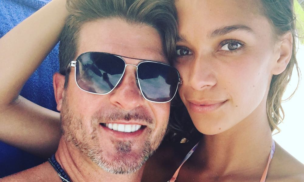 Robin Thicke and Fiancee April Love Geary Welcome Baby Girl