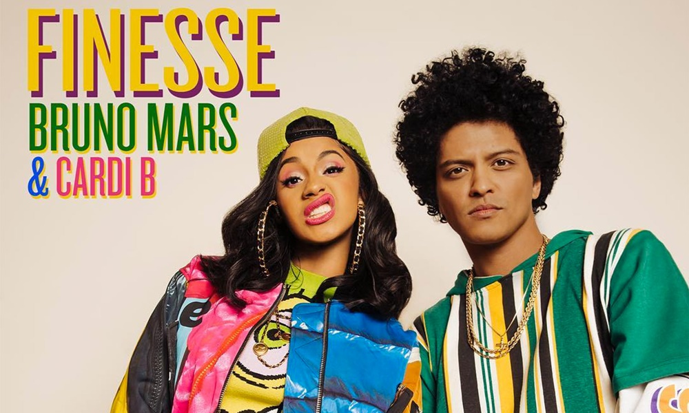 Bruno Mars & Cardi B's 'Finesse' Certified Double Platinum