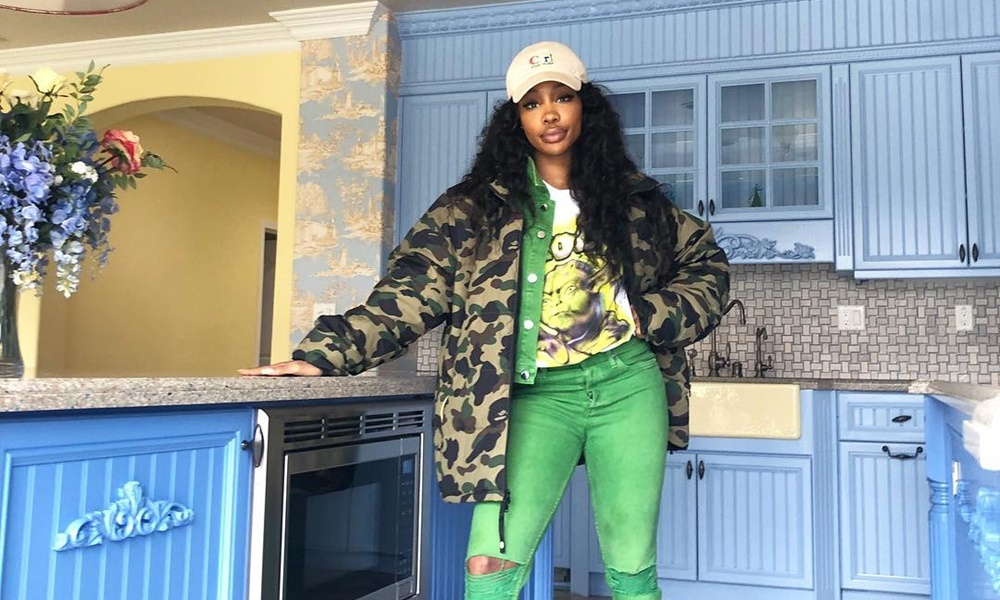 SZA Racks Up On Platinum Plaques