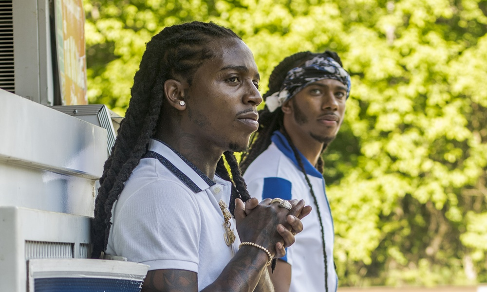 EXCLUSIVE: Issa and Jacquees Shoot 'Don't Do Me Like That' Video in Atlanta