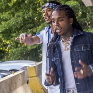 Issa and Jacquees Shoot 'Don't Do Me Like That' Video in Atlanta