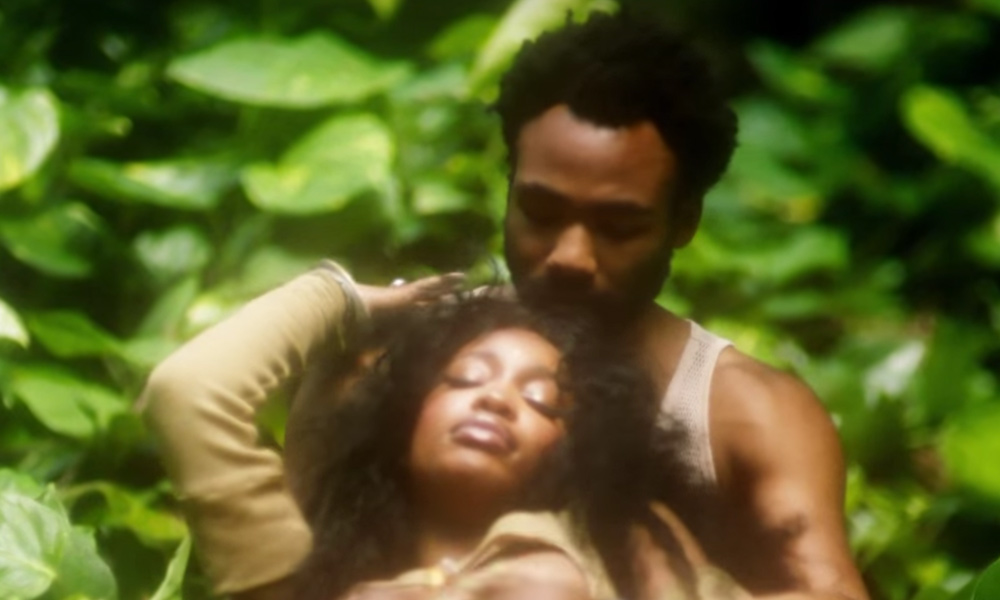 SZA Gets Some Love From Donald Glover in Her 'Garden' Video