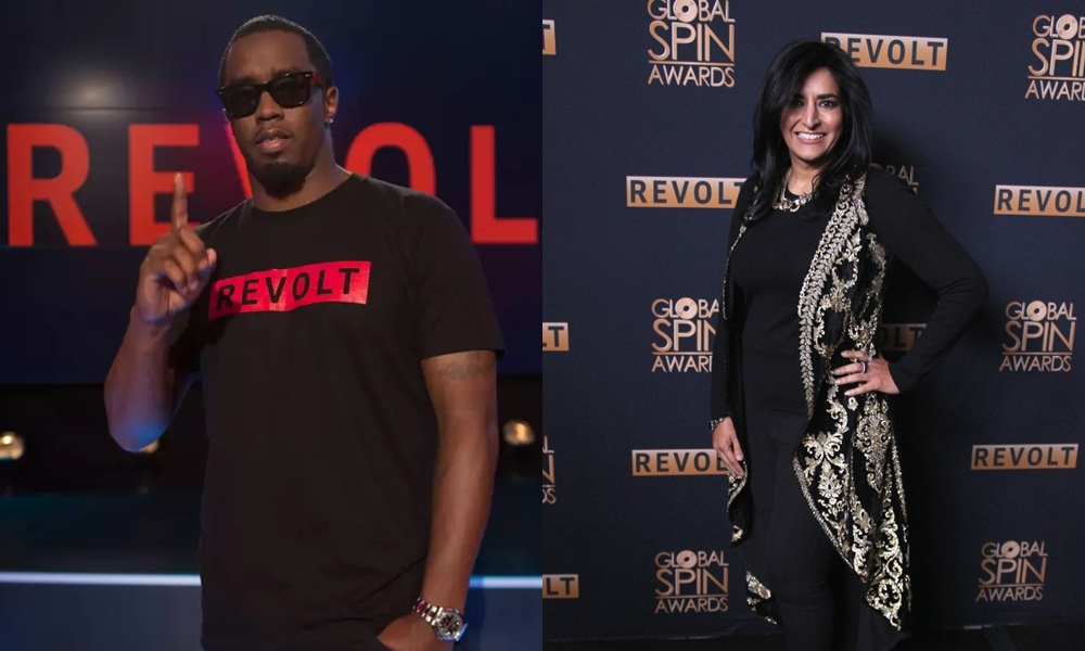 Revolt Chief Executive Faces Racism Allegations; Sean 'Diddy' Combs Defends Her