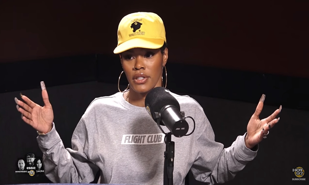 Teyana Taylor Talks Threesomes With Her Husband; Claps Back at Fan