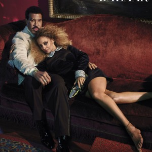 Lionel Richie Pose For 'Harper's Baazar' With Nicole Richie