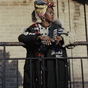 Lauryn Hill Slays As The Face Of Woolrich's New Fashion Campaign