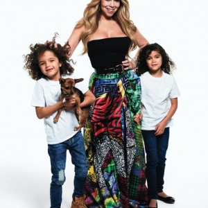 Mariah Carey Pose For 'Harper's Baazar' With her Kids