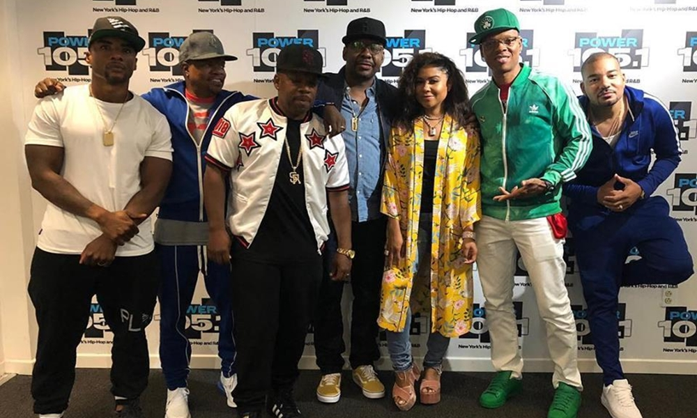New Edition Members Ronnie, Bobby, Ricky & Mike Hit Up 'The Breakfast Club' (Watch)