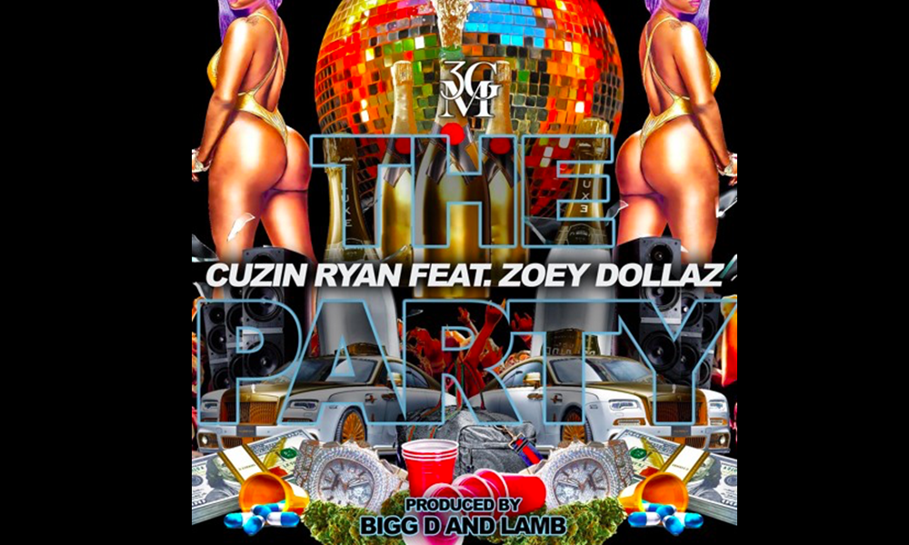 """Miami's Zoey Dollaz and Cuzin Ryan Drop """"The Party"""""""
