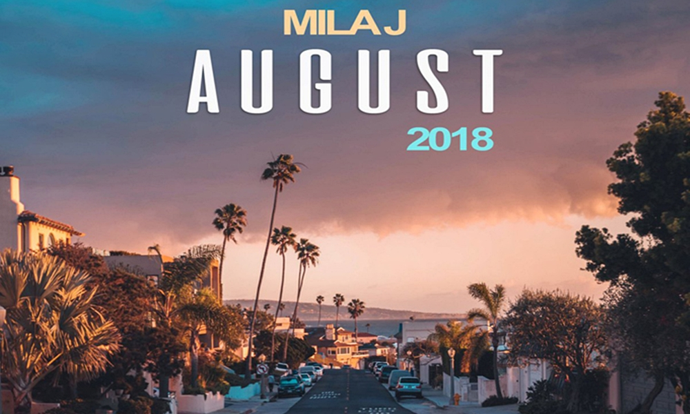 Mila J is Right On Time With The 8th Release of Her Monthly Project Series, 'August 2018'