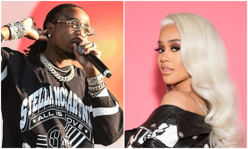 Couple Alert: Are Quavo & Saweetie a Thing?