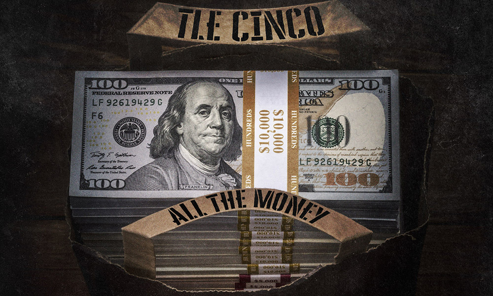 "Alabama's own TLE Cinco Drops ""All The Money"""