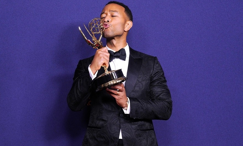 Living Up To His Name: John Legend Is the Youngest Person To Achieve 'EGOT' Status