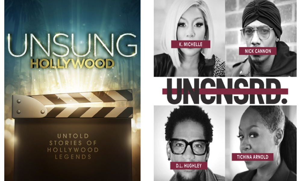 "Ray J, K. Michelle, Nick Cannon & More Featured on TV One's ""UNSUNG Hollywood"" & ""UNCENSORED"""