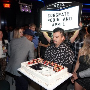 Robin Thicke Performs at APEX Social Club at PALMS Casino Resort in Las Vegas to Kick Off NYE Weekend