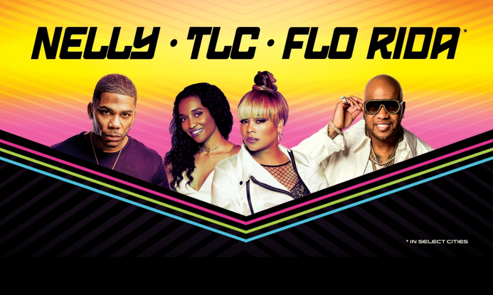 TLC, Nelly, and Flo Rida Join Forces For Summer Tour