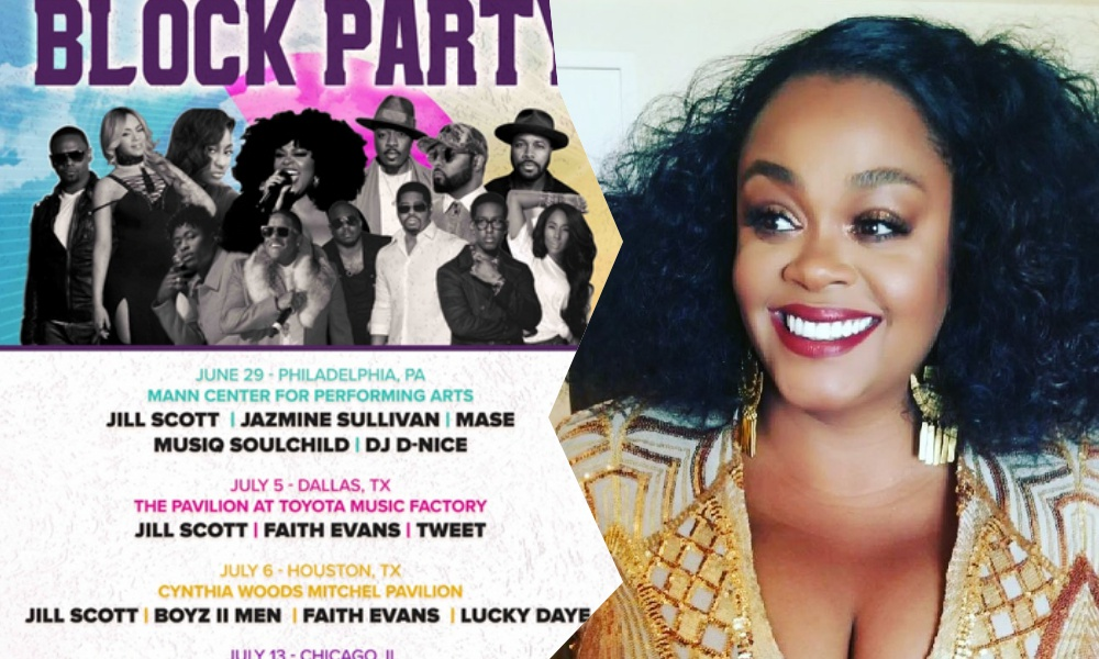 Jill Scott to Headline Summer Block Party Festivals; Jazmine Sullivan, Faith Evans, Anthony Hamilton, More to Perform
